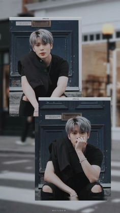 New aesthetic wall paper black korean Ideas Nct 127, Black Korean, Nct Life, Johnny Seo, Valentines For Boys, Jung Yoon, Jung Jaehyun, Jaehyun Nct, Boy Pictures