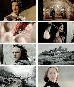 """The winters are hard. But the Starks will endure. We always have."" #asoiaf"