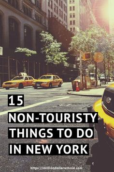 Discover New York the way most other travellers won't. Here are 15 non-touristy things to do in New York city that will give you the best holiday stories New York Vacation, New York City Travel, New York In December, Nyc, Travel Information, Where To Go, Cool Places To Visit, Travel Usa, Travel Photos