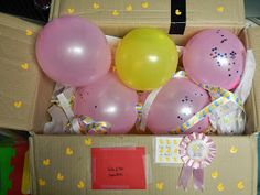 Baby shower by mail for mamas-to-be who are away from family and friends!