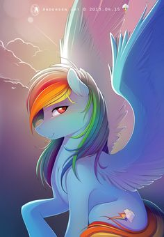 love this my old swim teacher called me rainbow dash because she was my favorite pony in my little pony awwww i mess miss Rachel