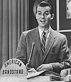 """Dick Clark.  """"American Bandstand."""" Vintage Tv, Vintage Photos, Vintage Stuff, American Bandstand, I Love Music, Pop Music, Old Tv Shows, Classic Tv, The Good Old Days"""