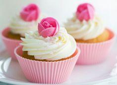 #Cupcakes #Rose #Pink #Yummy
