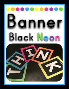 Check this banner pack to make your classroom ENDLESSLY perfect!