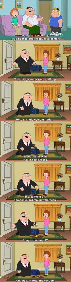 door-to-door vacuum salesman - Funny scenes, Funny screencaps
