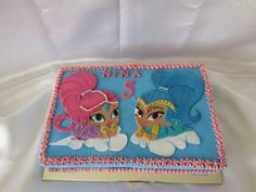 Shimmer and Shine cake<br>