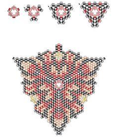 Схемы плетения ндебеле.. Украшения из бисера различной сложности и стиля исполнения. Мои работы с бисером и работы разных мастеров - примеры для вдохновения.