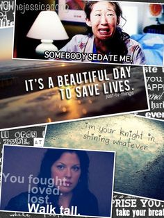 My favorite show of all time, It took my a while to find you but now I cannot imagine my life without Seattle Grace- Mercy West/ Sloan-Grey Hospital... <3 Greys Anatomy.