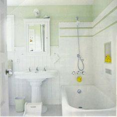 bright beautiful bathroom