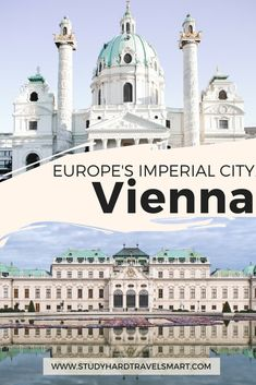 Explore Vienna, Austria by visiting Vienna's beautiful and opulent palaces. Exploring Vienna, Austria means stepping into history to experience Austrian culture, learn about Vienna's art history and architecture, and exploring Vienna's sites. #travel #vienna #austria