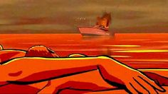 """Waltz with Bashir - """"Do you never have flashbacks from Lebanon?"""" - No, no. Not really."""