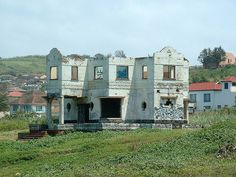 Ghost house, north of Durban, South Africa