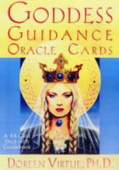 Goddess Guidance Oracle Cards by Doreen Virtue PhD,