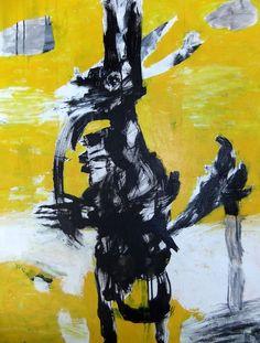 Title: Jackal  Size: 106cm x 75cm  Medium: Acrylic on Canvas