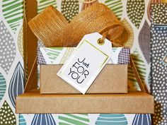How to Create a Gift Wrapping Station   Closet Envy