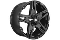 Mayhem Patriot Wheels - Free Shipping on Mayhem Patriot Rims - 8080 Black 5 Spoke Wheels