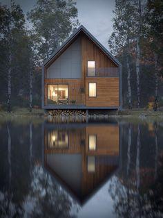 Matchbox House by BAU on Behance