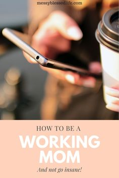 Tips for finding a good balance between home life and work for moms.