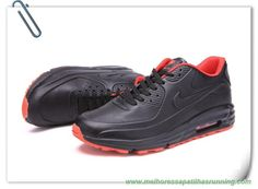 Nike Air Max Lunar90 SP Preto/Laranja Masculino
