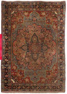 Bidjar ca. 160 x 110 cm Duesseldorfer Auktionshaus Persian Carpet, Persian Rug, Rugs On Carpet, Carpets, Iranian Art, Oriental Rugs, Rustic Rugs, Handmade Rugs, Bohemian Rug