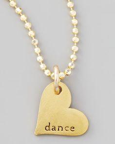 Dance Heart Charm