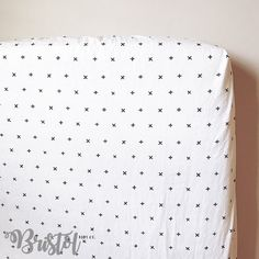 Modern Monochromatic Crib Sheet. Black and White Nursery. Gender Neutral Fitted Crib Sheet. Nursery Bedding.  by BristolKidsCompany on Etsy https://www.etsy.com/listing/515614433/modern-monochromatic-crib-sheet-black