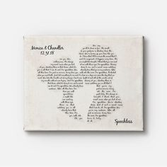 Excited to share this item from my shop: Couple Kissing Shape Canvas Art - Any Song Lyrics - Favorite Song - Wedding First Dance Song - Wedding Gift - Anniversary Gift - Wall Decor Wedding First Dance, First Dance Songs, Creative Gifts For Boyfriend, Boyfriend Gifts, Boyfriend Canvas, Dear Boyfriend, Birthday Gifts For Husband, Boyfriend Birthday, Wedding Anniversary Gifts