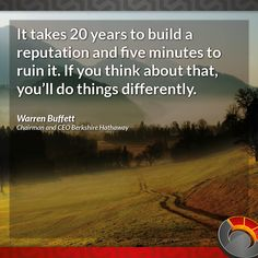 Quote for the day – Warren Buffett