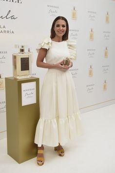 El look de Paula Echevarría en la presentación de su último perfume 'Paula Sensuelle'