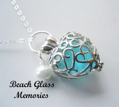 Love the color!!!!! Hey, I found this really awesome Etsy listing at https://www.etsy.com/listing/258241667/heart-locket-sea-glass-necklace