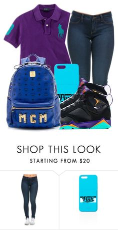 """""""Untitled #876"""" by chynaloggins ❤ liked on Polyvore featuring Ralph Lauren, Retrò, MCM, women's clothing, women, female, woman, misses and juniors"""