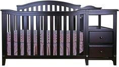 Kali 4-In-1 Crib and Changer 4 In 1 Crib, Full Size Headboard, Best Crib, Delta Children, Bed Rails, Mini Crib, Crib Sets, Baby Necessities