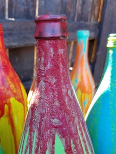 Decorative Bottles by YellowChairStudios on Etsy