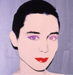 tina chow by andy Warhol - Tina Chow was a model, jewelry designer, and influential fashion icon in the 1980s.