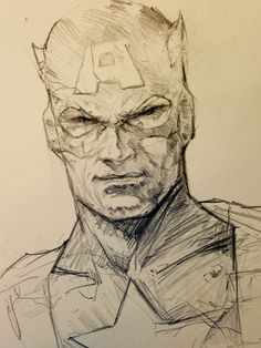 Captain America by Dave Seguin *