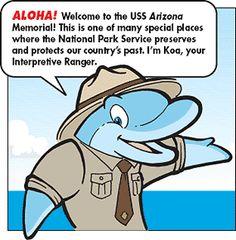 Pearl Harbor junior ranger program