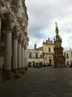 Piazza Salandra, in the centre of Nardo' is a Baroque Square with beautiful buildings. If you travel trough Apulia and you want to spend some time in this area...you can find great hotels and Bed and Breakfast using this link: http://www.hotelcostcompare.citiesbynight.com/Place/Nardo.htm?a_aid=7036&brandid=8309&label=pintrest