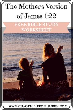 """Why mothers should be """"doers of God's word"""". Empowering Parents, Free Bible Study, Parenting Advice, Mom Advice, Facebook Support, Christian Post, James 1, Kids Behavior, Bible For Kids"""