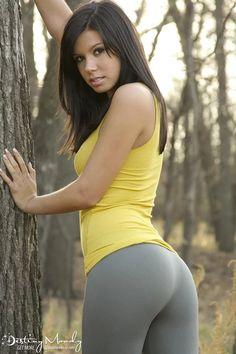 Her pants denim removes tight ariel