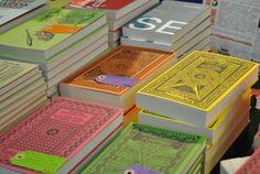 i coloratissimi libri di #delvecchioed al #pbf2014. Fotografati da #grammateca