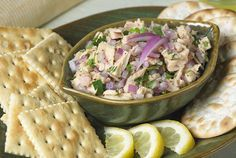 Tuna ceviche is the perfect light, summer appetizer. Try this kidney-friendly recipe today! #kidneydiettips #diabetesrecipes