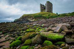 Minard Castle, Dingle Peninsula, Ireland