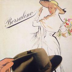 Pubblicità vintage Borsalino