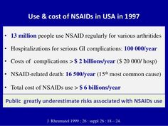 We use a lot of NSAIDs in the US.  Are we aware how toxic this is?  My post explains...