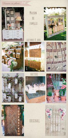 Quelques idées pour trouver sa place - plan-de-table © So Lovely moments, blog mariage et famille, idées déco et inspirations mariage