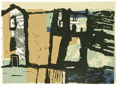The Mill House by Rosemary Vanns silkscreen
