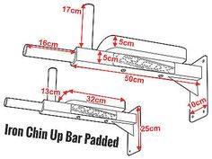 RDX Wall Mounted Padded Dip Bar made of durable & premium quality material. Buy Wall Mounted Padded Dip Bar from the official online store in USA Home Made Gym, Diy Home Gym, Gym Room At Home, Diy Gym Equipment, No Equipment Workout, Dip Workout, Gym Workouts, Wall Workout, Fitness Gear