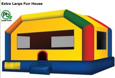 Teen Bounce Houses 180.00 all day (2nd house half off)