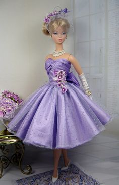 Lavanda for Silkstone Barbie and Victoire Roux on Etsy now