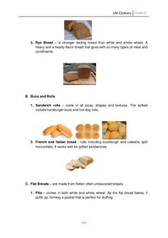 LM Cookery G9 Rye Bread, Sandwiches, Teacher, Professor, Teachers, Paninis